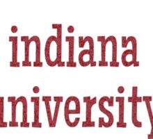 Indiana University Sticker Sticker