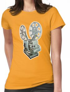 16mm Film Projector Womens Fitted T-Shirt