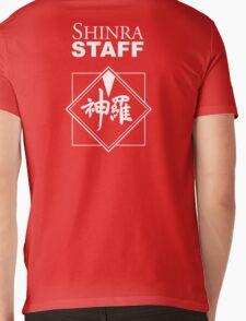 Shinra Staff Mens V-Neck T-Shirt