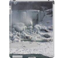 Niagara Falls Ice Buildup - American Falls, New York State, USA iPad Case/Skin