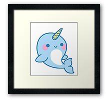 Uni-Whale  Framed Print
