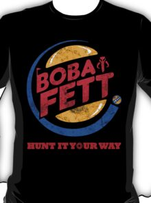 Star Wars Boba Fett Burger King T-Shirt