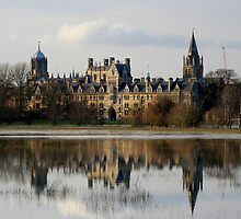 Oxford Flood Reflection by Elena J