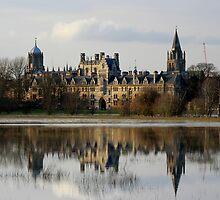Oxford Flood Reflection by ChocChipCookie