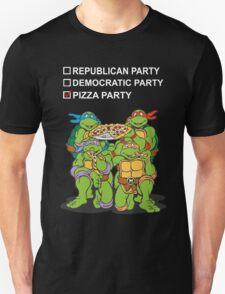 Ninja Turtles Pizza Party Unisex T-Shirt