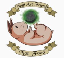 Nugs Are Friends, Not Food One Piece - Short Sleeve