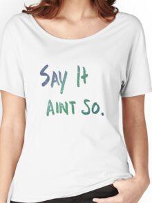 I left him in Malibu. Women's Relaxed Fit T-Shirt