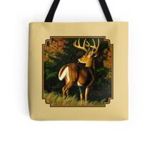 Indecision - Whitetail Buck Tote Bag