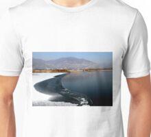 A frozen lake Unisex T-Shirt