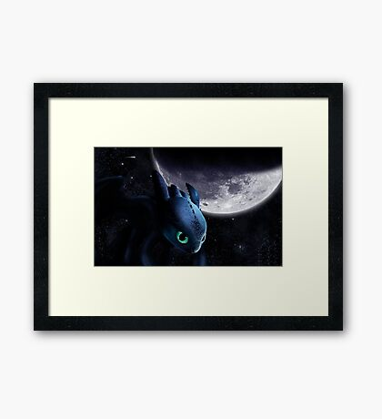 How To Train Your Dragon 5 Framed Print