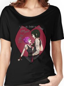 Loving Demons Women's Relaxed Fit T-Shirt
