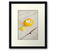 Lemon Love Framed Print