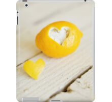 Lemon Love iPad Case/Skin