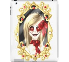 LittleMissCreepypasta - Mirror iPad Case/Skin