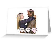 Juliet & Sawyer - Lost Greeting Card
