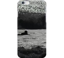 Black and White Soul Surfer iPhone Case/Skin