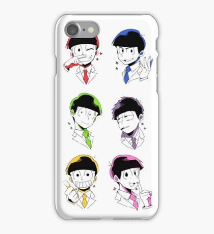 Osomatsu-san Brothers 2 iPhone Case/Skin