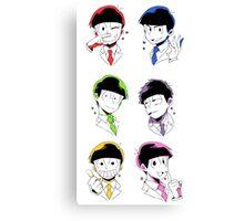 Osomatsu-san Brothers 2 Canvas Print