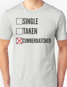 SHERLOCK SINGLE TAKEN CUMBERBATCHED T-Shirt