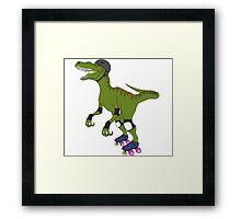 Derby Raptor Framed Print