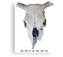 Old Cow Skull tee Canvas Print