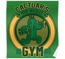 Cactuar´s Gym Poster