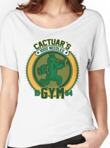 Cactuar´s Gym Women's Relaxed Fit T-Shirt