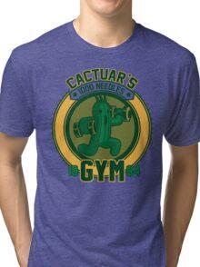 Cactuar´s Gym Tri-blend T-Shirt