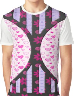 Heart love retro style gifts Graphic T-Shirt