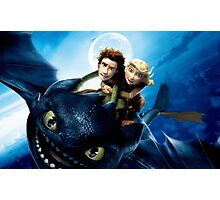 How To Train Your Dragon 7 Photographic Print