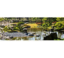 Tokyo imperial palace garden Photographic Print
