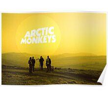 Arctic Monkeys Landscape Print Poster