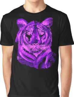 AAG1  PURPLE TIGER  Graphic T-Shirt