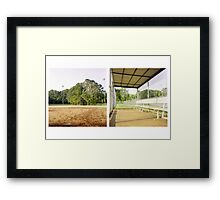 Diamond Diptych 1 Framed Print