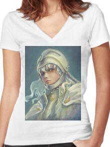 """Griffith - Berserk"" Women's Fitted V-Neck T-Shirt"