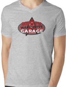Scotty's Warp Drive Garage Mens V-Neck T-Shirt