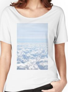 clouds Women's Relaxed Fit T-Shirt