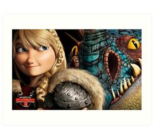 How To Train Your Dragon 9 Art Print