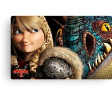 How To Train Your Dragon 9 Canvas Print