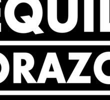 Salsa Tequila Corazon.. Sticker