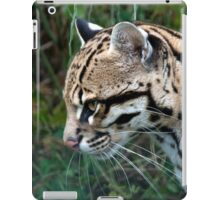Side Profile Of An Ocelot - (Leopardus pardalis) iPad Case/Skin