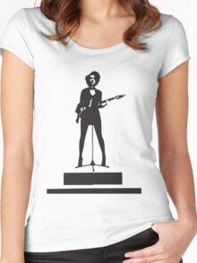 st vincent annie clark Women's Fitted Scoop T-Shirt