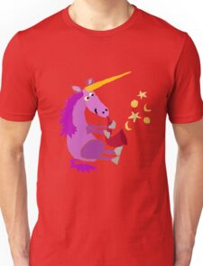 Funny Cool Purple Unicorn Playing Saxophone Unisex T-Shirt