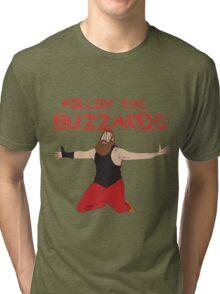 WWE Bray Wyatt Follow The Buzzards  Tri-blend T-Shirt