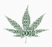 Marijuana Doob Leaf by doobclothing