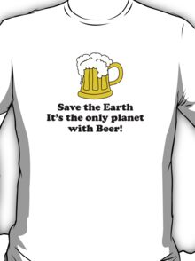 Save the earth T-Shirt