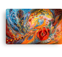 The Rose of East Canvas Print