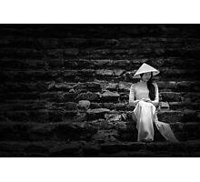 ao dai Hue Photographic Print