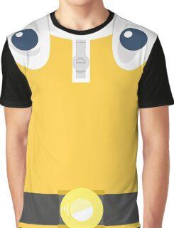Saitama The Hero T-Shirt Design Graphic T-Shirt