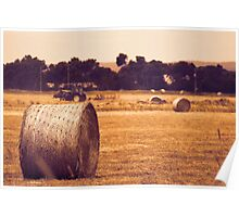 Wheat Harvest Poster